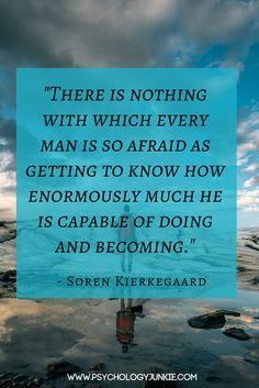 for any personality type from Soren Kierkegaard Kierkegaard Quotes, Soren Kierkegaard, Famous Quotes, Best Quotes, Adverse Childhood Experiences, Qoutes, Life Quotes, Cottages By The Sea, Higher Consciousness