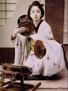 昔の日本女性