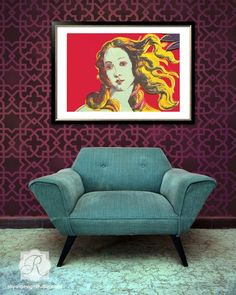Birth of Venus - DIY Wall art