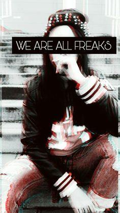 #weareallfreaks #americanhorrorstory #freakshow