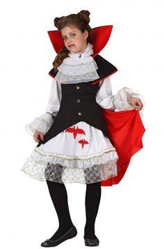 Disfraz de vampiro para niña