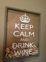 Id e pour d co de bar cadre avec bouchon de vin id es - Idee deco cadre photo ...