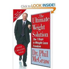 Dr. Phil wants to lead you to weight loss freedom. He's spent over thirty years working with overweight patients to get results that last. Now, in The Ultimate Weight Solution, he sounds his loudest wake-up call yet, giving the bottom-line truth and his unprecedented 7 Key approach to permanent weight loss.