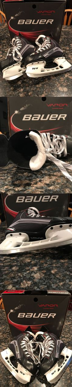 Ice Hockey-Youth 26342: Bauer Vapor X400 Ice Hockey Skates - Jr Size 4.0 D -> BUY IT NOW ONLY: $69.99 on eBay!