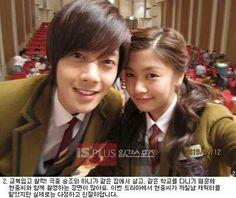 Kim Hyun Joong y Jung So Min en el set de filmación Playful Kiss Playful Kiss, Selfies, Baek Seung Jo, Selca, Korean Drama Series, Ji Hoo, Kiss Images, W Two Worlds, Jung So Min