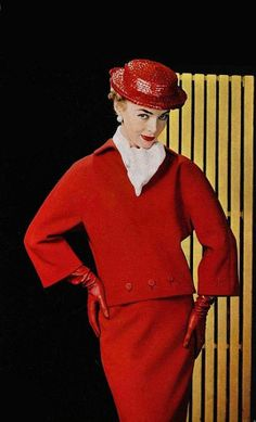 Photo by Philippe Pottier for Givenchy, 1954