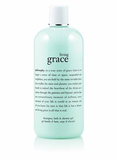 Philosophy Living Grace Shampoo, Shower Gel and Bubble Bath, 16 Ounce >>> You can find out more details at the link of the image. (This is an Amazon Affiliate link and I receive a commission for the sales)