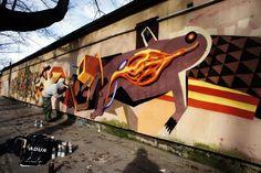 Seikon x Jacyndol New Mural In Gdansk, Poland StreetArtNews