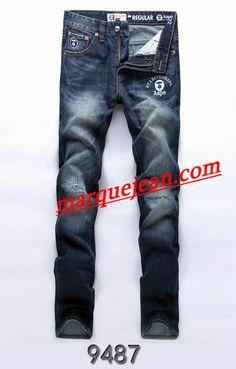 Vendre Jeans A Bathing Ape Homme H0005 Pas Cher En Ligne.