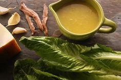 Read the Best Caesar Salad dressing (no anchovies) discussion from the Chowhound Home Cooking, Salad food community. Vegan Caesar Dressing, Salad Dressing Recipes, Salad Recipes, Salad Dressings, Garlic Vinaigrette Recipe, Anchovy Recipes, Ceasar Salad, Easy Salads, Soup And Salad
