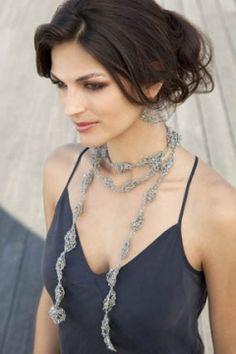 TSC Yarns: Estee Necklace and Earrings