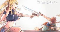 lucy and natsu Fairy Tail Love, Fairy Tail Nalu, Lucy Fairy, Fairy Tail Amour, Art Fairy Tail, Image Fairy Tail, Fairy Tail Comics, Fairy Tail Funny, Fairy Tail Natsu And Lucy