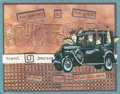 Tim Holtz Cling Rubber Stamps SOULFUL JOURNEY Stampers Anonymous CMS029 Preview…