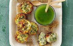 Broccoli-frittata med røget paprika