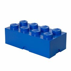 LEGO Storage Brick 8, Bright Blue - free shipping