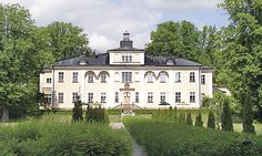 Haga Palace in Solna, Stockholm, Sweden