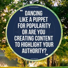 or designing & distributing authentic content for true authority? Just because its trending, popular or cool, doesn't make it something that you should shift your entire content tone and trajection toward. Especially if it is not you. #Tiktok #dance #tiktokdance #dancelife #viral #dancevideo #quotes #challenge #love #dancing #instagood #lorenwweisman #brandmessaging #authenticity #authority #messagingstrategist #brandmessagingstrategist #fishstewardinggroup My Opinions, Dance Videos, Just Me, Authenticity, Dancing, Challenge, Author, Messages, Content