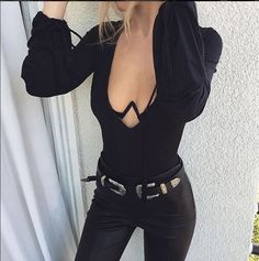 Double Buckle B-Low Baby Bri Bri Leather Belt Dupe Super cute bri bri belt dupe… All Black Everything, For Love And Lemons, Fashion Tips, Fashion Design, Fashion Trends, Dark Fashion, Fashion Ideas, Winter Fashion, Style Me