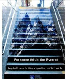 Great ad campaign for disable people. Love ads? follow me in twitter @johnnymatosrd