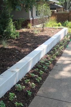 76 Best Concrete Retaining Walls Images Garden Design Modern