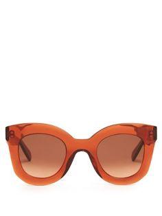 69573ecba7a31 Baby Marta acetate sunglasses   Céline Sunglasses   MATCHESFASHION.COM US  Types Of Glasses,