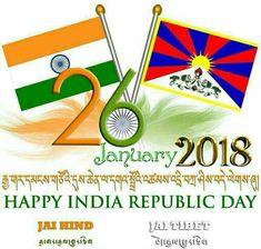 Republic Day, Tibet, Happy, Ser Feliz, Happiness, Being Happy