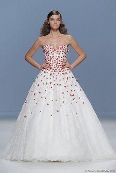 Vestidos de noiva 2015: coloridos