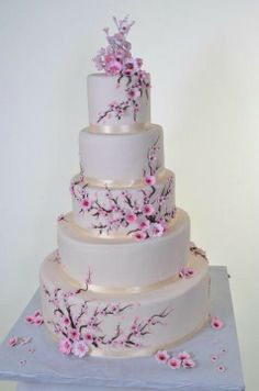 Another cherry blossom cake