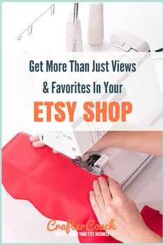 Getting heaps of views and favourites but no sales on etsy can be super frustrating! I talk about what to do to fix it here http://craftercoach.com/qa-2-why-your-etsy-shop-is-getting-views-and-favourites-but-no-sales/