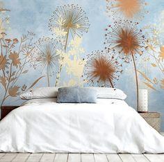 Decoración de verano diente de León Wallpaper por DreamyWall