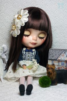 Blythe Doll Custom,Mui by little dolls room, via Flickr