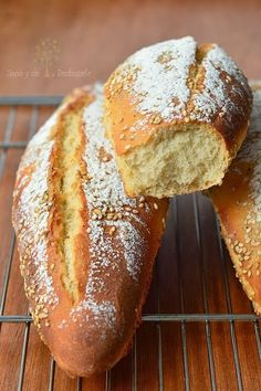 ¡Sano y de rechupete!: Pan para bocadillo con masa madre y reposo