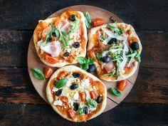 Minipizza Mini Pizza, Vegetable Pizza, Tacos, Mexican, Vegetables, Ethnic Recipes, Food, Pai, Veggies