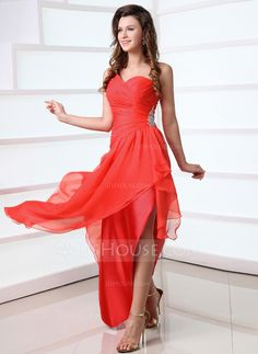 Prom Dresses - $139.99 - A-Line/Princess One-Shoulder Asymmetrical Chiffon Prom Dress With Ruffle Beading (018017339) http://jjshouse.com/A-Line-Princess-One-Shoulder-Asymmetrical-Chiffon-Prom-Dress-With-Ruffle-Beading-018017339-g17339
