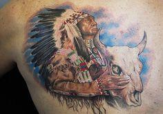 native tattoos designs cherokee brave | 30 Astonishing Indian Tattoos