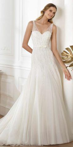 Hermosos vestidos de novia tradicionales | Colección de vestidos de bodas