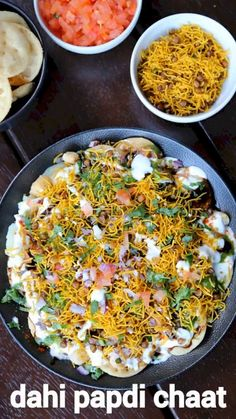 Puri Recipes, Pakora Recipes, Paratha Recipes, Veg Recipes, Spicy Recipes, Vegetarian Recipes, Cooking Recipes, Dahi Papdi Chaat Recipe, Dahi Puri
