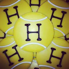Hutchison Tennis Cookies | Flickr - Photo Sharing!