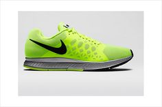 """Perfect pair for running in Night time: Nike Air Zoom Pegasus 31 Flash ($115; store.nike.com) If the bright green version of this lightweight (""""Zoom"""") iteration of Nike's popular Air Pegasus is a little too bright for your taste, you'll still stand out after dark in the black and grey models, which also feature a high-visibility finish."""