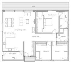 THIS IS THE ONE!! house-plans-2015_10_house_plan_ch371.jpg MODERN, SIMPLE, AFFORDABLE TO BUILD(1700 SQ FT) look in 2015, plan ch371