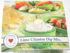 Country Home Creations Lime and Cilantro Dip Mix