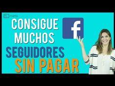 Cómo tener muchos seguidores en Facebook gratis - YouTube Facebook, Digital Marketing, Youtube, Social Media, Social Networks, School, Youtubers