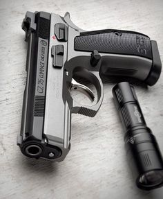 Want to load your magazines faster and easier without wearing out your thumbs? RAE Industries is your HERO! Get yours now and experience loading magazines without pain. Revolver, 9mm Pistol, Weapons Guns, Guns And Ammo, Cz 75, Shooting Guns, Custom Guns, Home Defense, Cool Guns