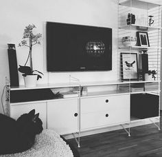 Find out all of the information about the STRING FURNITURE product: contemporary sideboard / lacquered wood / with shelf VQC-RRHIOY. Home Decor Furniture, Cheap Furniture, Furniture Plans, Living Room Furniture, Office Furniture, Tv Shelving, Shelves, Living Room Tv, Home And Living