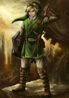 Pretty awesome Steam Punk Link