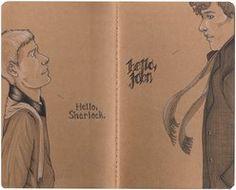 Sherlock Moleskine by ~redreh on deviantART