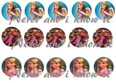 Tangled inspired 15  1 Bottle Cap Images  4x6 by NerdiandIknowit, $1.00