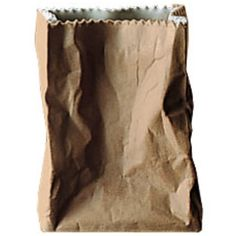 Rosenthal - Paper bag vase - ceramics ($36) ❤ liked on Polyvore featuring home, home decor, vases, fillers, bags, food, accessories, decor, embellishment and detail