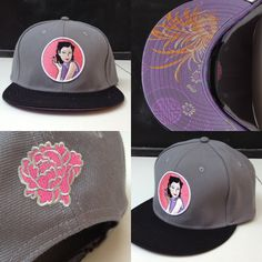 China Doll with Silk Bottom Snapback
