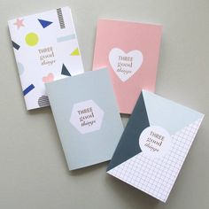 Stylish notebook journals printed in England with gold foil-blocked details.Available in 4 designs